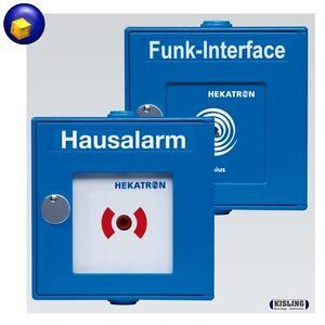 hekatron funk handtaster interface rauchmelder genius hausalarm funkhandtaster ebay. Black Bedroom Furniture Sets. Home Design Ideas
