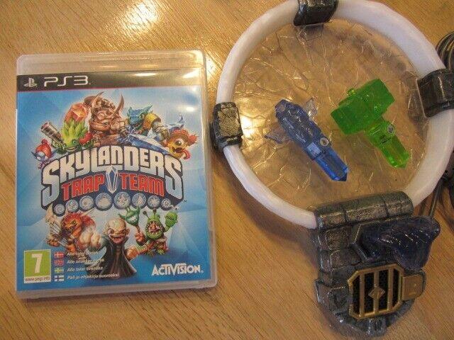 Skylanders Trap Team, PS3, adventure