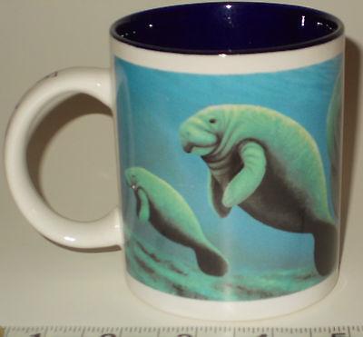Manatees Coffee Mug Tea Cup Florida Baby Manatee USA Banana Appeal