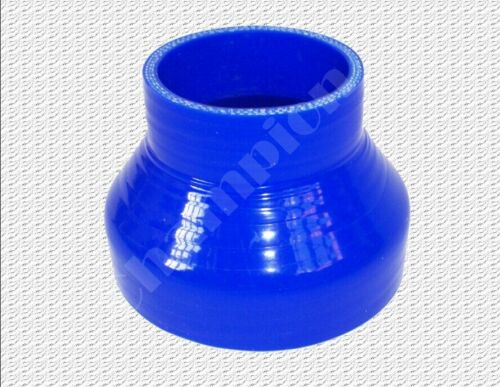 """3-PLY Universal 2/"""" to 2.5/"""" inch 51mm to 64mm Silicone Straight Reducer Coupler"""
