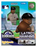 Latroy Hawkins Oyo Colorado Rockies Mlb Mini Figure G4