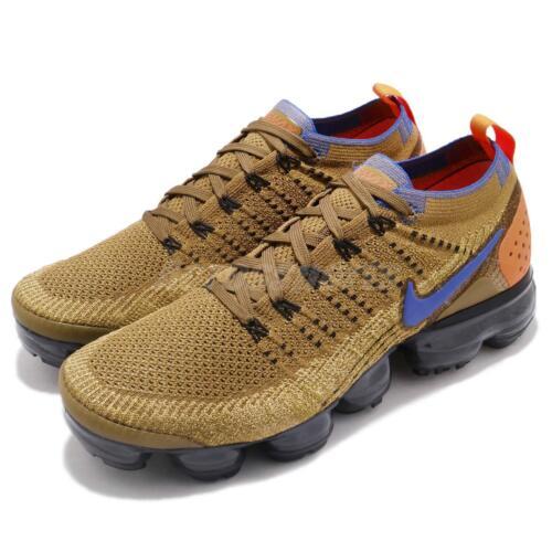 Nike Air Vapormax Flyknit 2 II Mowabb Golden Beige Men Running Shoes 942842-203