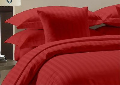 Home Garden Brick Red Solid Sheet Set Rv Camper Bunk Bed All Sizes 1000 Tc Egyptian Cotton Bedding