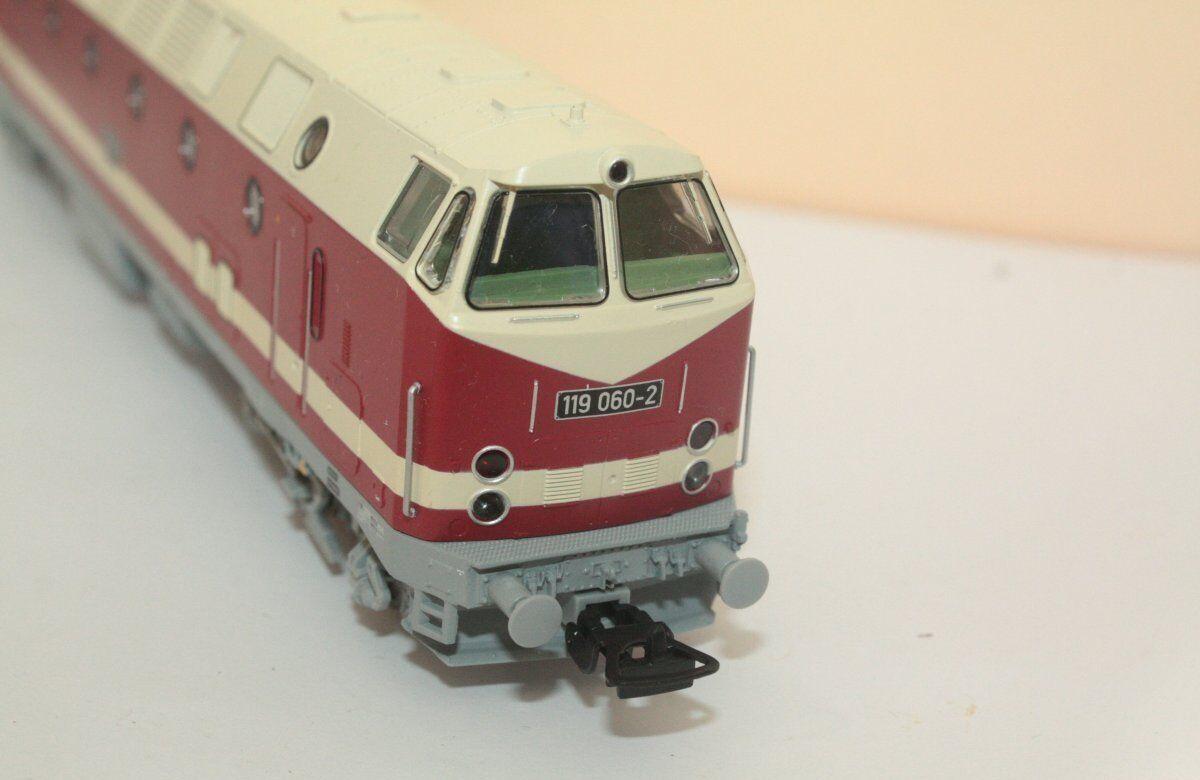 Piko 59930 Diesellok 119 060-2 Spur Spur Spur H0 - analog DC für Sound vorbereitet  | Verpackungsvielfalt  ce4ca1