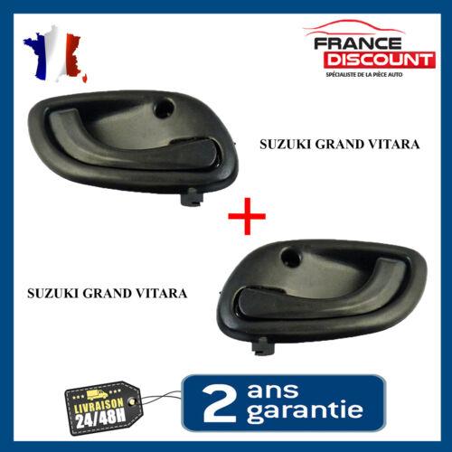 2 Poignee de porte Interieure Gauche et Droite pour Suzuki Grand Vitara