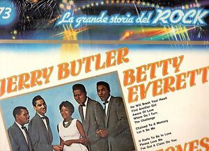 JERRY-BUTLER-BETTY-EVERETT-CLEFTONES-disco-LP-33-GRANDE-STORIA-ROCK-73-SEALED