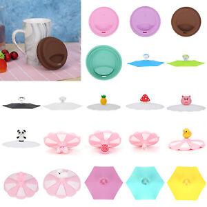 Silicone-a-Perfetta-Tenuta-Caffe-Te-Tazza-Ventosa-Coperchio-Cappello-Ermetico