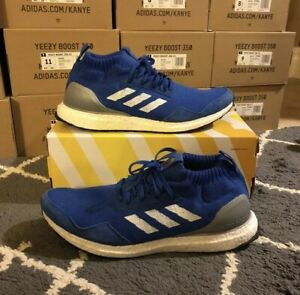 Details about Adidas Ultra Boost Mid Run Thru Time Blue Size 12.5 Used BY3056