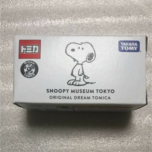 Snoopy Peanuts Museum Limited Dream Tomica Car Snoopy RARE NEW