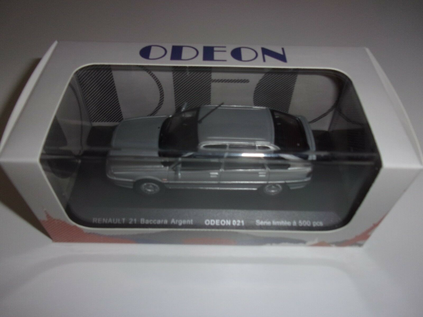 1 43 RENAULT R21  BACCARA  ARGENT-1990-ODEON021