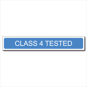 MOT SIGNSCLASS 4 TESTED ( HEAVY DUTY ) VEHICLE TESTINGVOSA600x100mm