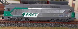 Diesel-ROCO-68538-livree-034-FRET-034-digitalisee-avec-BO-echelle-HO-ED85
