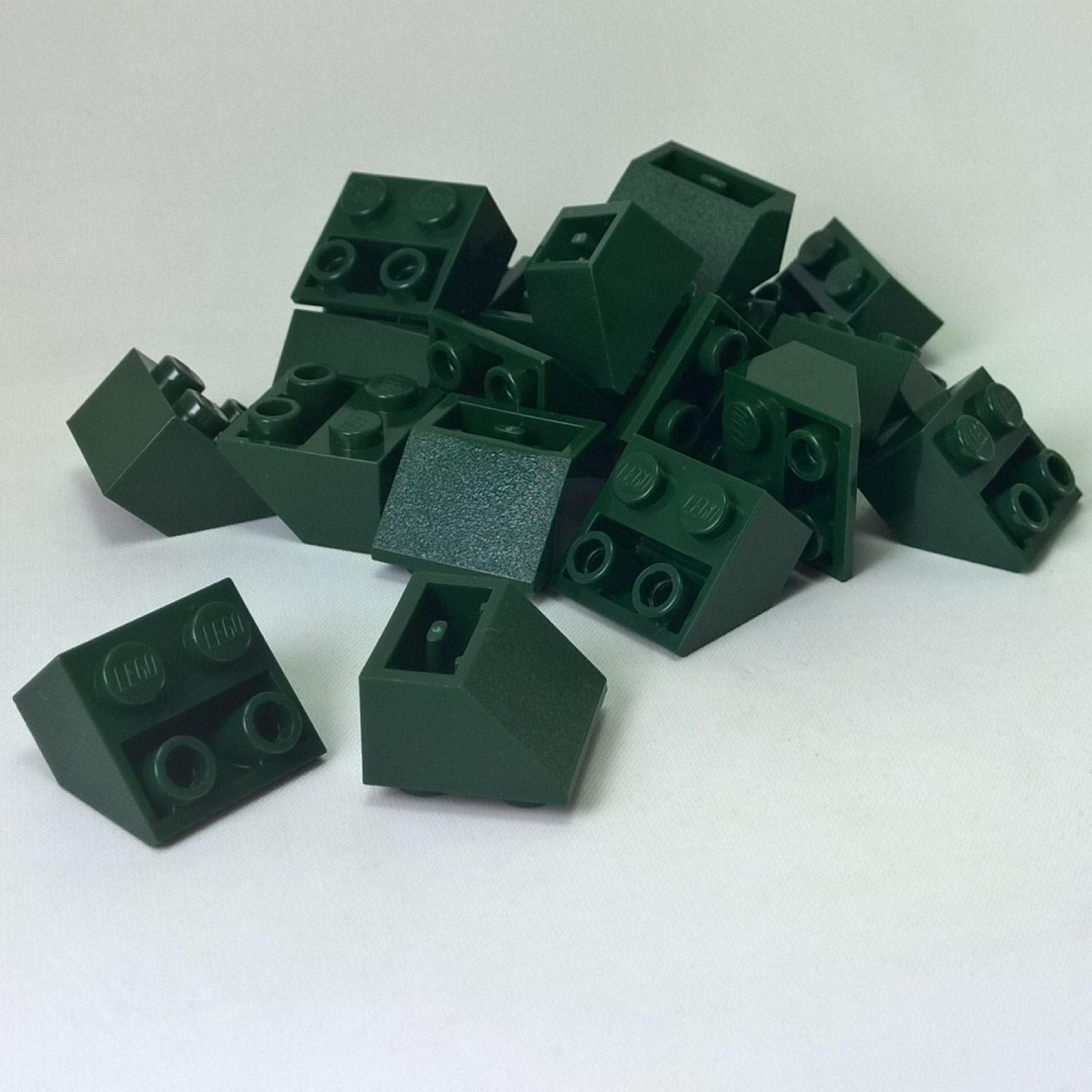 Inverted 45 4 x 2 Double Black 20 NEW LEGO Slope