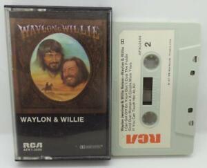 Waylon-amp-Willie-Waylon-Jennings-amp-Willie-Nelson-Cassette-RCA-Records-AFK1-2686