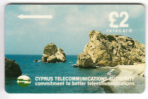 EUROPE-TELECARTE-PHONECARD-ILE-CHYPRE-2-GPT-17CYPA-N-BLANC-NOTCHED