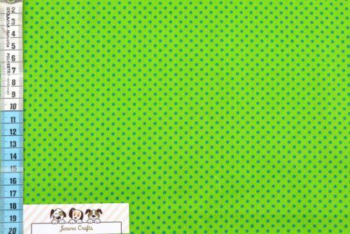 Puntos de toalla verde azul de tela coser algodón tejido alta calidad quilten