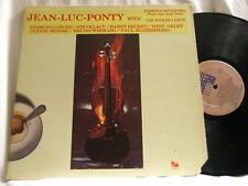 JEAN-LUC PONTY Meets GIORGIO GASLINI Steve Lacy Tony Oxley Paul Rutherford LP