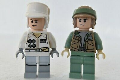 Lego Star Wars FIGURINE-Hoth Rebel Trooper officer lideck FIREST 9509