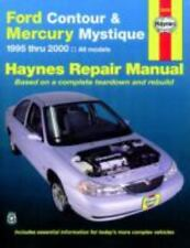 Haynes Repair Manual: Ford Contour and Mercury Mystique, 1995 thru 2000 (36006)