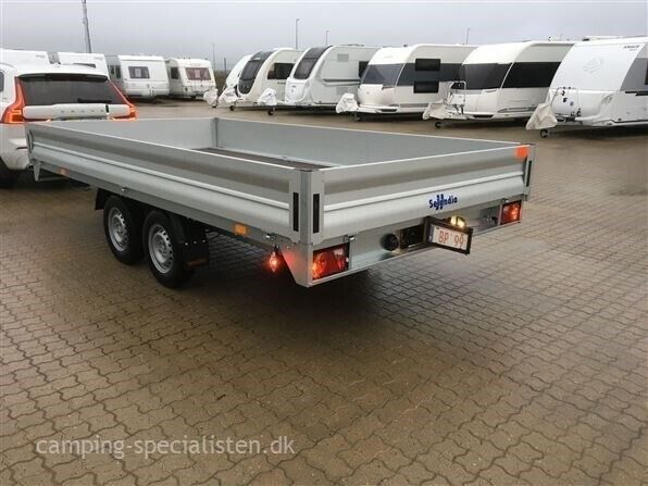 Trailer, Selandia Lad trailer 417 2700 Kg, lastevne (kg):