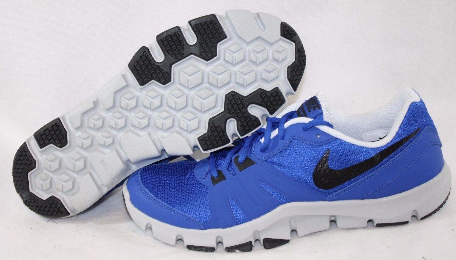 NEW Mens NIKE Flex Show TR 4 807182 401 Blue Grey Black Sneakers Shoes