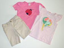Gymboree and Outlet 7 8 Ladybug Bird Tops Other Brand Shorts Set pr1