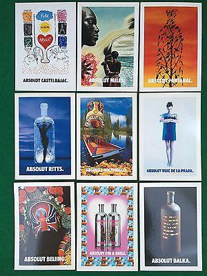 ABSOLUT JOY Cartolina Card vodka Taiwan