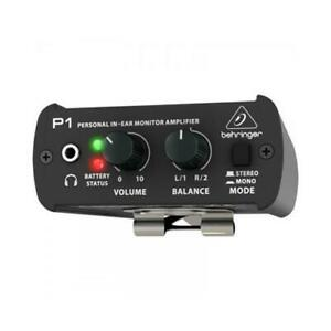 BEHRINGER P1 POWERPLAY AMPLIFICATORE MONO/STEREO CUFFIE 2 XLR IN ( P-1 )
