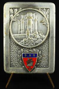 Medaille-ville-de-Vincennes-blason-armes-chateau-medal