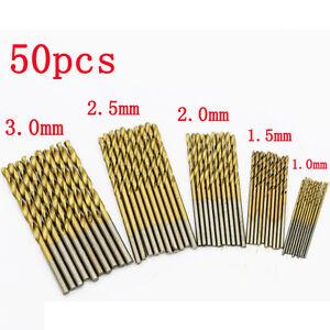 Punte-per-punte-elicoidali50seghe-trapano-HSS-in-acciaio-al-carbonio-e-metalloLO