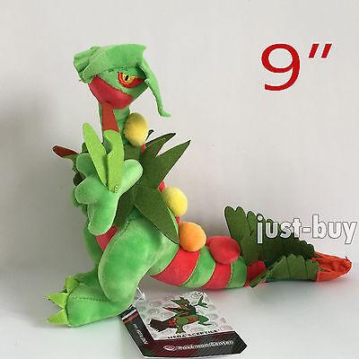 "Pokemon XY Mega Sceptile #254 Plush Soft Toy Character Stuffed Animal Doll 9"""