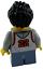 Lego wade hidden side minifigura Lego personaje personaje hombre joven niño hs017 nuevo