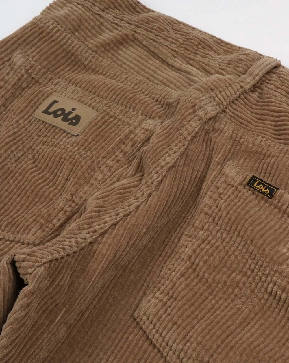 Lois Lois Lois Dallas Jumbo Fili nella sabbia scuro-CULT 80 S SPAGNOLO Denim Jeans Pantaloni 6b286c