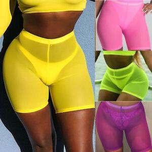 Women-Ladies-Pants-Summer-Casual-Loose-Shorts-Beach-High-Waist-Short-Trousers