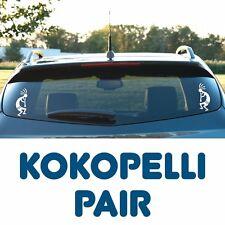 Kokopelli - A pair of vinyl decals, Flute Player, Tribal, Indian, Southwestern