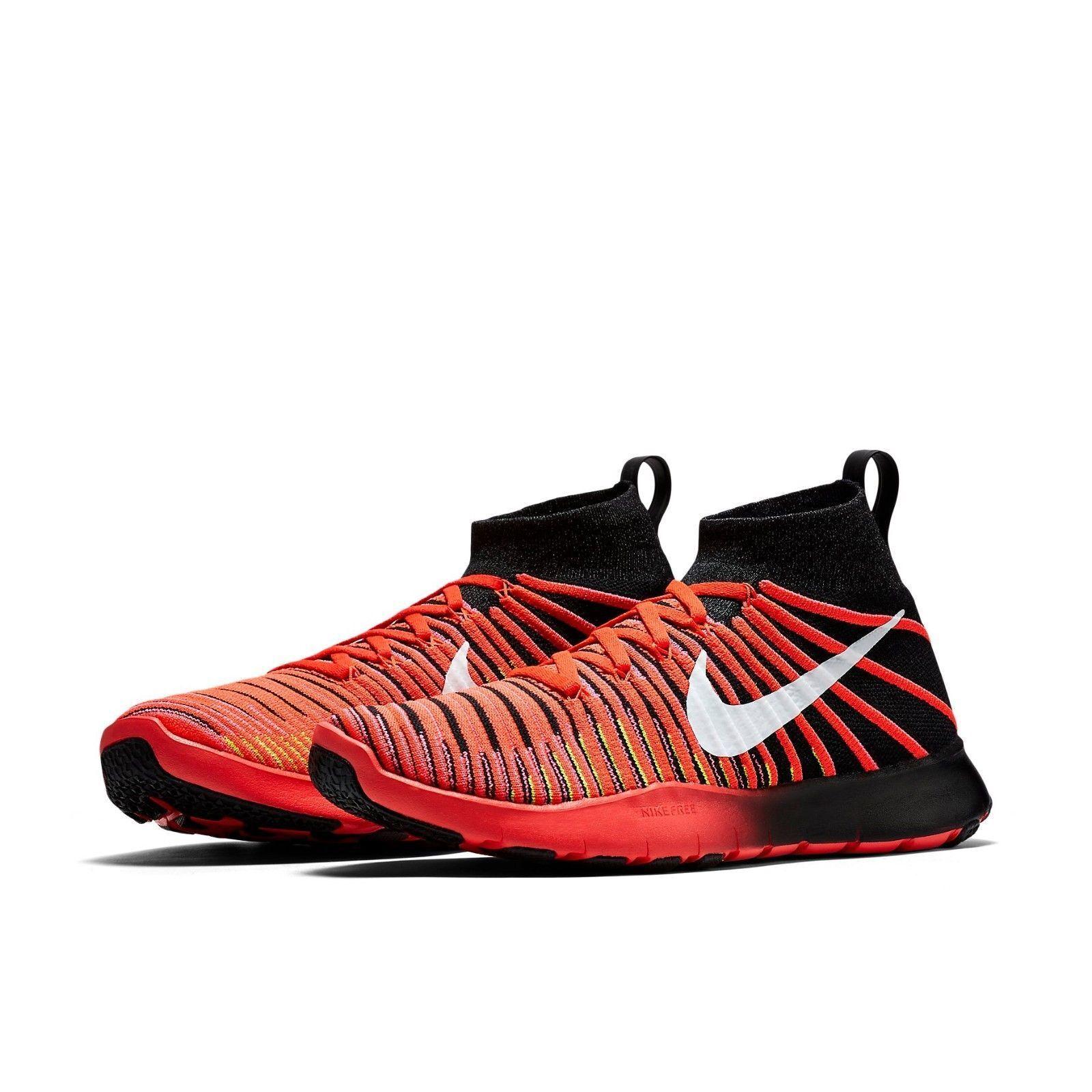 Nike Men's Free Train Force Flyknit 833275 833275 833275 001 Size 11.5  (29.5 cm) 021ddc