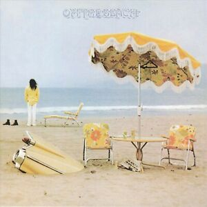Reproduction-034-Neil-Young-On-The-Beach-034-Album-Poster-Size-16-034-x-16-034