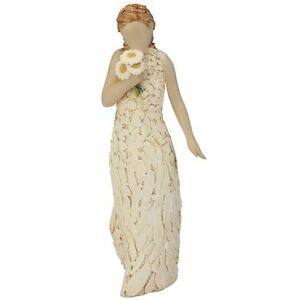 Best Friend More Than Words Love Friendship Lady Flowers Figurine 17.5cm 9803