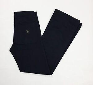 Gas-blue-jeans-pantalone-uomo-usato-zampa-bootcut-svasati-W30-tg-44-blu-T3771