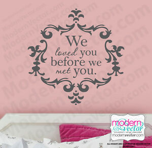 i loved you before i met you quote