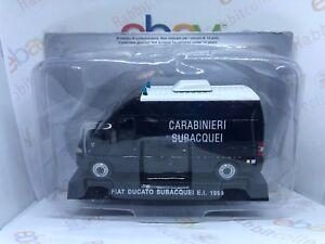 DIE-CAST-034-FIAT-DUCATO-SUBACQUEI-E-I-1999-034-CARABINIERI-1-43-CENTAURIA
