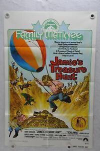 1975-Scalawag-aka-Jamie-039-s-Treasure-Hunt-Original-1SH-Movie-Poster-27-x-41