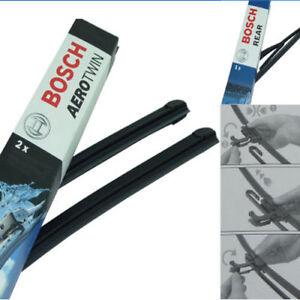Bosch-Limpiaparabrisas-Delantero-Trasero-para-LANCIA-Y-840-af552-Z361