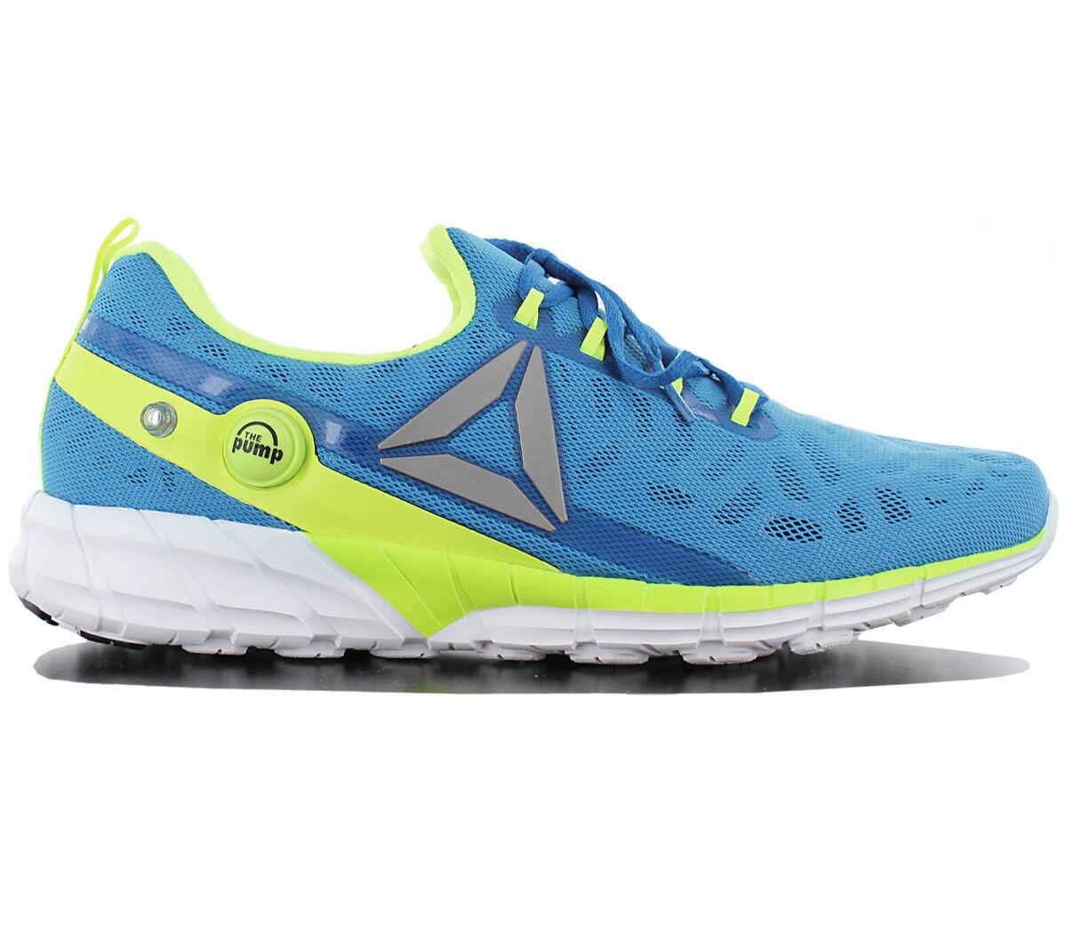 Reebok Pump Fusion 2.5 Zapatos Hombre Azul AR0088 Zapatillas de Correr Deportiva