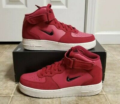 quality design 0e30d 8615d NIKE AIR FORCE 1 MID '07 LV8 RED CRUSH Men's Sz 8 NEW 804609 604 NoLid Qs |  eBay