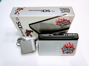 Nintendo DS Lite Console Guitar Hero Special Edition w/box Refurbished