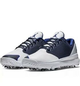 newest 608bb 777d1 Details about NIKE GOLF SHOES - AIR JORDAN TRAINER ST G - WHITE - BLUE  AH7747-101 Size 13