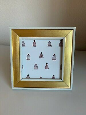 """Panther Photo Frame Gold 4/""""x 6/"""" Target lot Opalhouse- 6"""