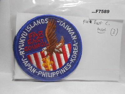 FAR EAST COUNCIL RYUKYU ISLANDS TAIWAN JAPAN KOREA PHILIPPINES  F7589