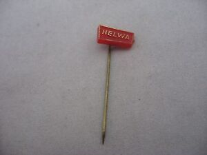 HELWA-Baked-Goods-Vintage-Foreign-Mens-Hat-Stick-Pin-Advertising